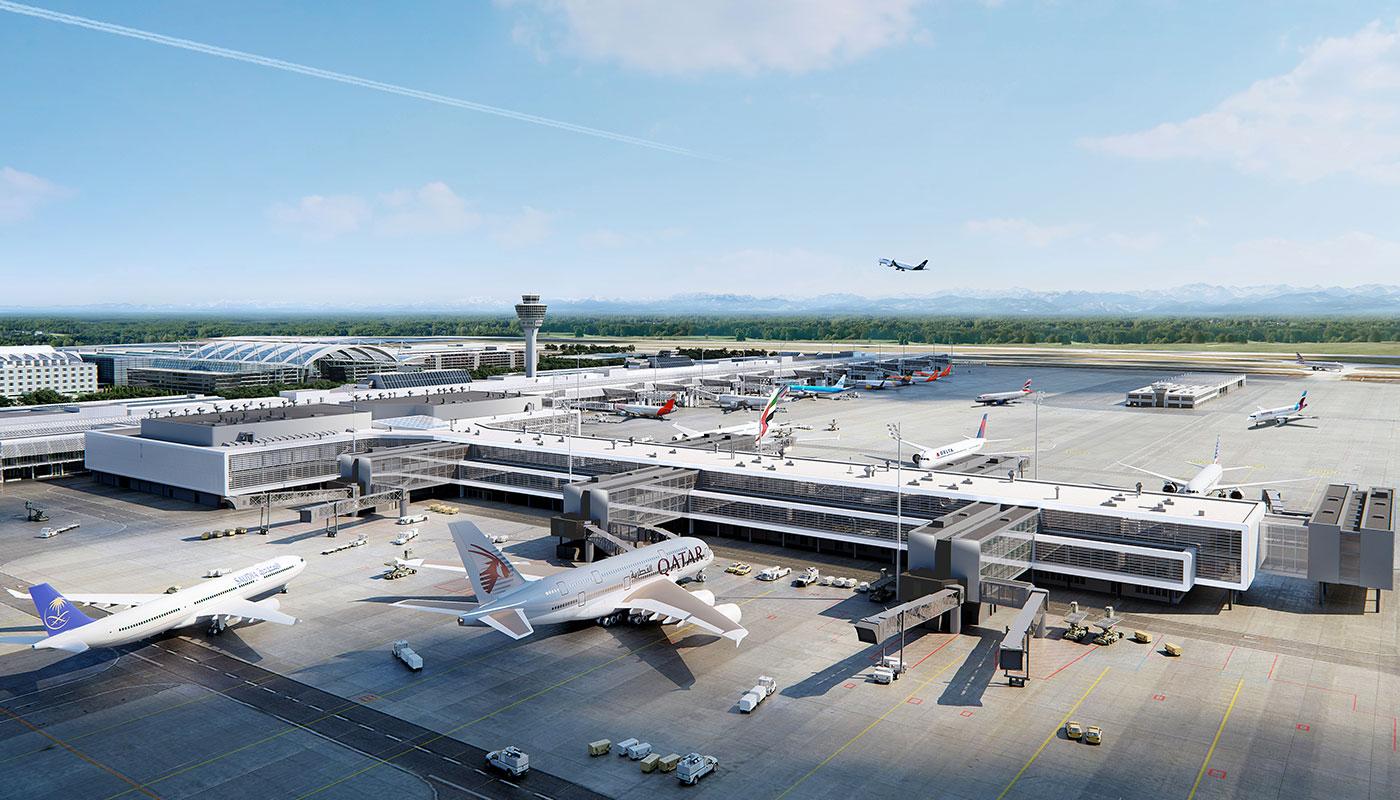 Munich Airport Jerman